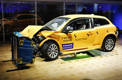 Crash-test_Volvo C30 Electric