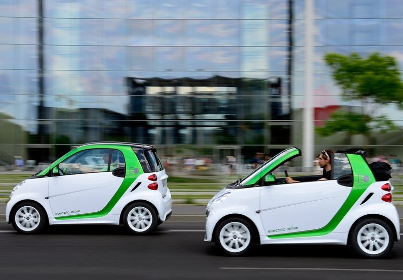 Smart Fortwo Electric Drive 2013 (4)