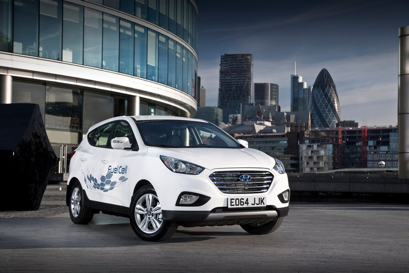 Hyundai ix35 Fuel Cell London 2014